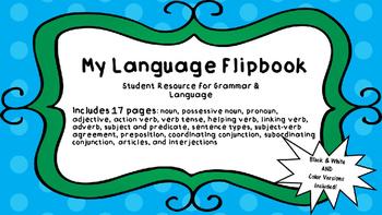 Language and Grammar Resource Flipbook