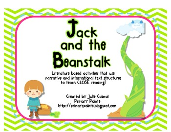 Language and Literacy Connections:  Jack and the Beanstalk
