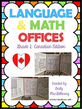 Language and Math Offices: Canadian Edition (Grade 2)