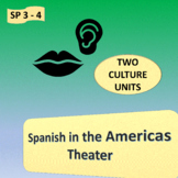 Spanish in the Americas / Theater; 2 units - SP Intermediate 2