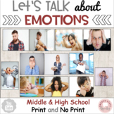 Let's Talk about Emotions: Teaching Packet (for Middle and