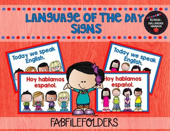 Language of the day Signs