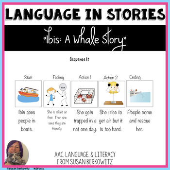 IBIS A True Whale Story Language Activities