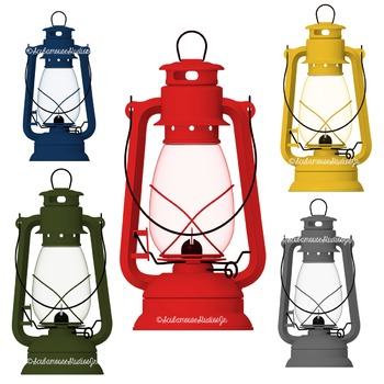 Lantern Clipart, Camping Lanterns, Antique Hanging Lantern