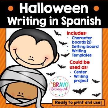 Lanza y Escribe tu Historia de Halloween