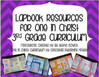Lapbook Resources for One in Christ Third Grade