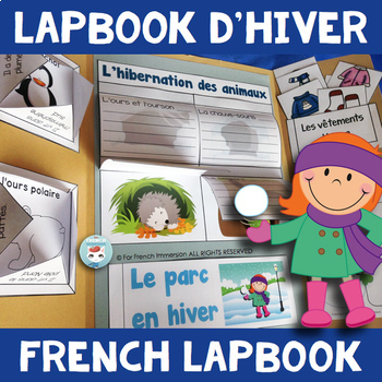 French Winter Lapbook | HIVER