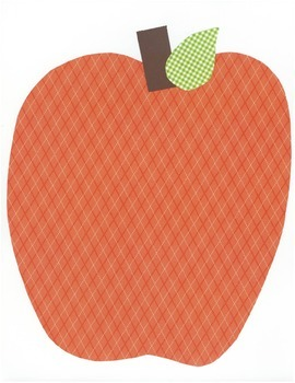 Large Apples for Bulletin Boards and Displays