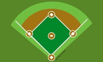 Large Baseball Game Board