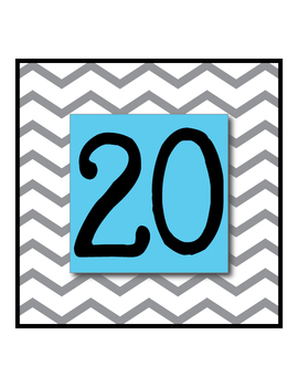 Large Chevron Numbers