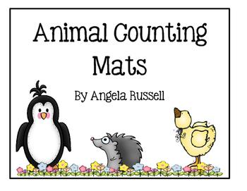 Animal Counting Mats