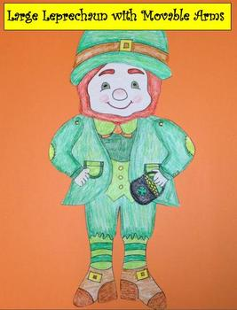 Large Leprechaun with Movable Arms