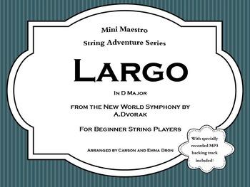 Largo from the New World Symphony by Dvorak
