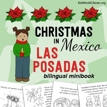 Christmas Around the World ~ Las Posadas Bilingual Minibook
