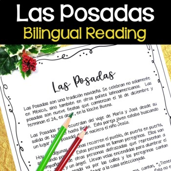 Las Posadas Bilingual Reading (Christmas)