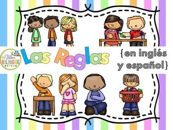 Las reglas en inglés y español / Rules in English and Spanish