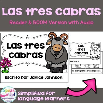 Las tres cabras ~ Simplified Spanish Three Billy Goats Gru