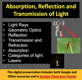 Lasers, Absorption and Transmission - Optics PowerPoint Le