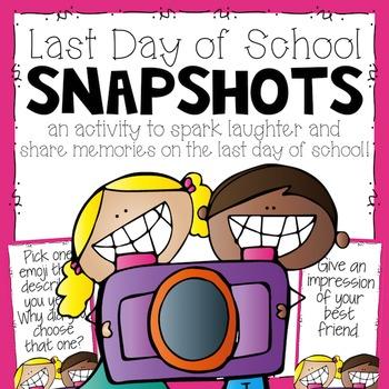 Last Day of School Circles