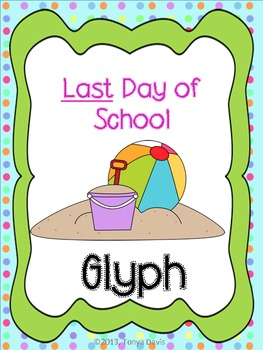 Last Day of School Glyph