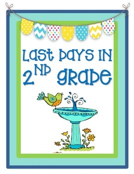 Last Days in 2nd Grade! {End of the year second grade activities}
