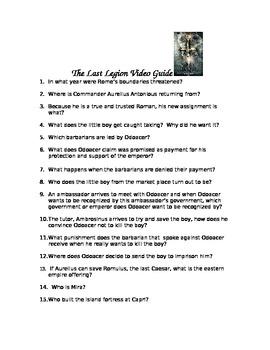 Last Legion Video Lesson Pack
