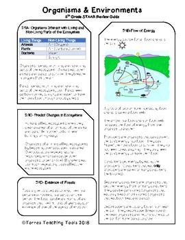 Last Minute 5th Grade Science STAAR Review- Organisms & En
