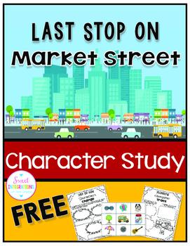 LAST STOP ON MARKET STREET Character Study - FREE