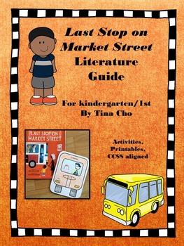 Last Stop on Market Street Literature Guide