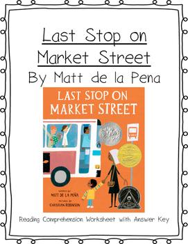 Last Stop on Market Street Reading Comprehension