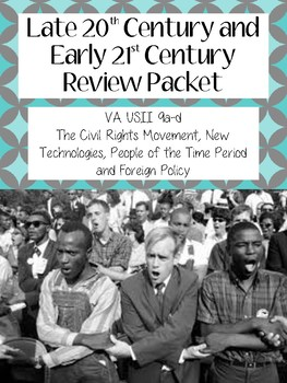 Late 20th/ Early 21st Century Review Packet