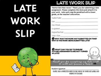 Late Work Slips