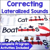 Articulation Program Lateral Sounds {ch, dg, sh, s, z, tr,
