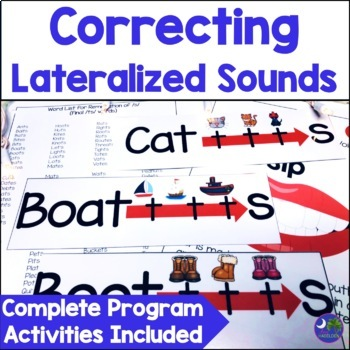 Articulation Program Lateral Sounds {ch, dg, sh, s, z, tr,