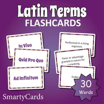 Latin Vocabulary Flashcards