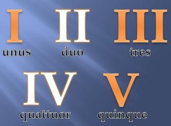 Latin Numbers