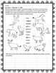 Latin Vocabulary Puzzles - Review of Animal Words for Firs