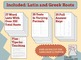 Latin and Greek Roots: Language Development 4th+ {Common C