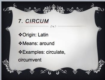 Latin & Greek Stems Core Knowledge 7th & 8th grade