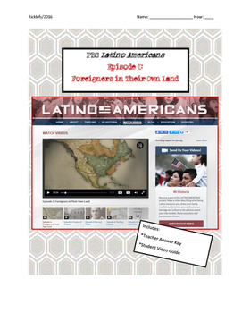 Latino Americans Episode 1 Foreigners in Their Own Land Vi