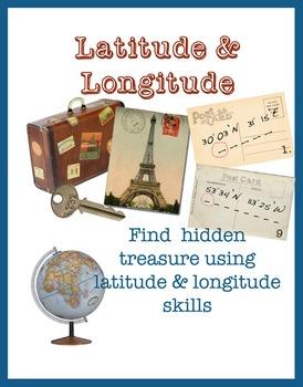 Latitude & Longitude - Powerpoint, quiz & treasure hunt us