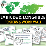 Latitude and Longitude Posters