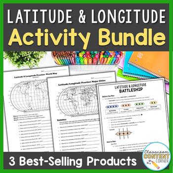 Latitude and Longitude BUNDLE!