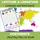 "Latitude and Longitude ""Continents of the World"""