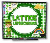 Lattice Leprechauns (Multiplication) SMART BOARD PROMETHEA