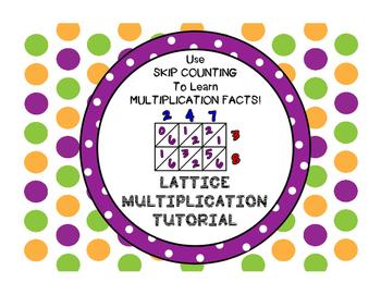 Lattice Multiplication Tutorial, Skip Counting Strips, Pra