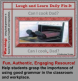 Laugh and Learn: Authentic Daily Oral Language Fix-It