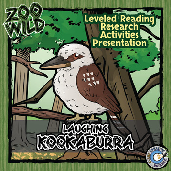 Laughing Kookaburra -- 10 Resources -- Coloring Pages, Rea