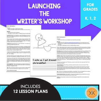 Launching Writer's Workshop - Lucy Calkins Inspired
