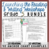 Grade 5 Launching the Reading and Writing Workshops